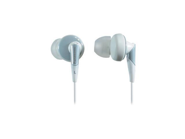 Panasonic RP-HJE450-W 3.5mm Connector Earbud Headphones - White