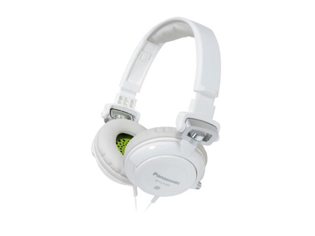 Panasonic White RP-DJS400-W 3.5mm Connector Circumaural DJ Street Style Monitor Headphone (White)