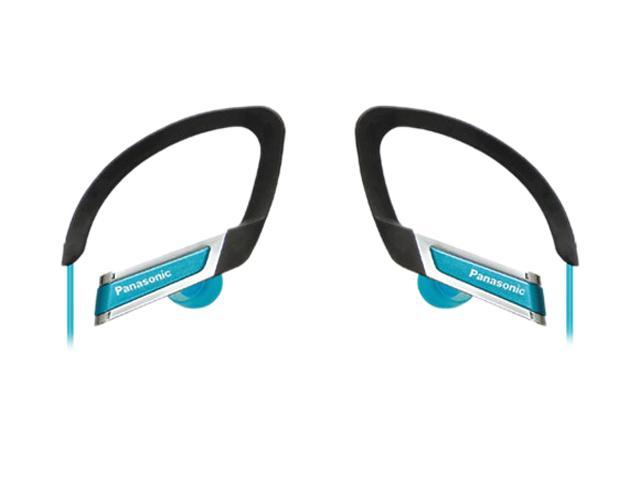 Panasonic RP-HS220-A In-Ear Clip Style Sports Headphone - Blue