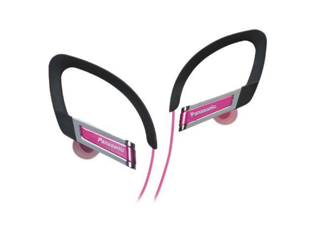 Panasonic RP-HS220-P 3.5mm Connector In-Ear Clip Style Sports Headphone - Pink
