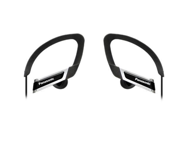 Panasonic Black RP-HS220-K 3.5mm Connector Canal Sports Clip Headphone - Black