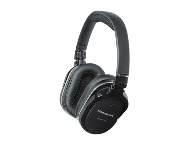 Panasonic Black RP-HC720-K Circumaural Noise Canceling Headphone (Black)