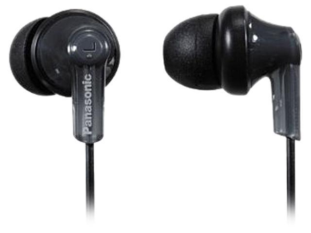 Panasonic Black RPHJE120K Canal In-Ear Headphone