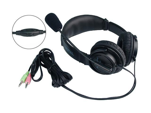 Rosewill RH-001 3.5mm Connector Circumaural Multimedia Stereo Headset