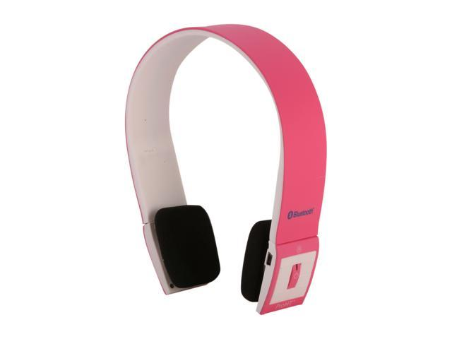 inland 87095 supra aural proht bluetooth headset pink. Black Bedroom Furniture Sets. Home Design Ideas