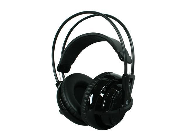 SteelSeries Siberia v2 Circumaural Full-size Headset - Black