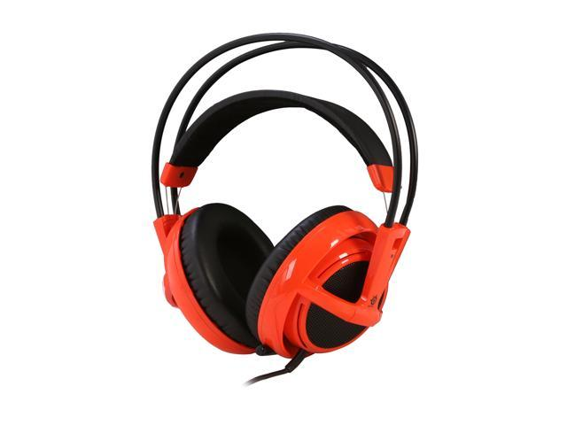 SteelSeries Siberia V2 3.5mm Connector Circumaural Full-Size Gaming Headset - Orange
