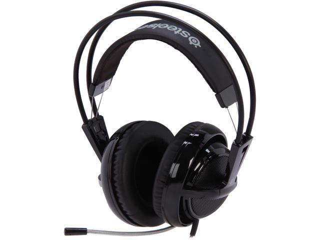SteelSeries Siberia V2 Circumaural Full-Size Gaming Headset - Black
