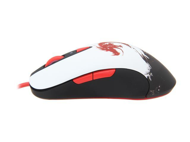 SteelSeries Guild Wars 2 62156 8 Buttons 1 x Wheel USB Wired Laser 5700 dpi Gaming Mouse