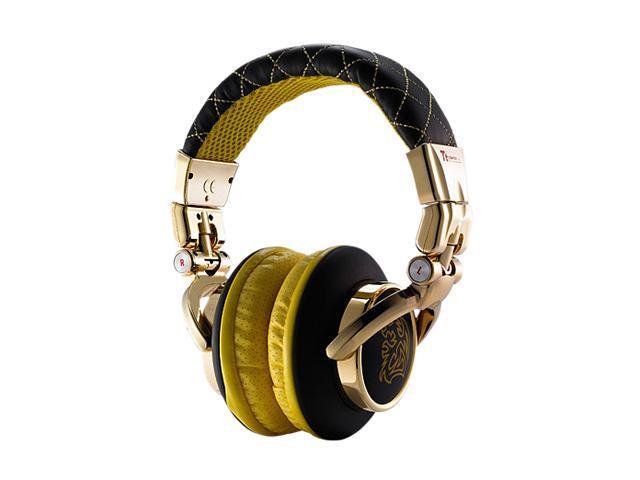 Dracco Black HT-DRS007OEBL 3.5mm Connector Circumaural High Performance Professional Headphone Deep Black