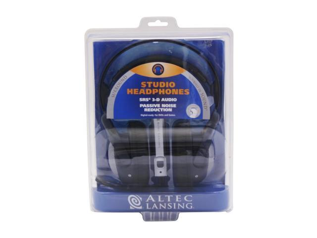 ALTEC LANSING AHP625 3.5mm/ 6.3mm Connector Circumaural Studio Headphone
