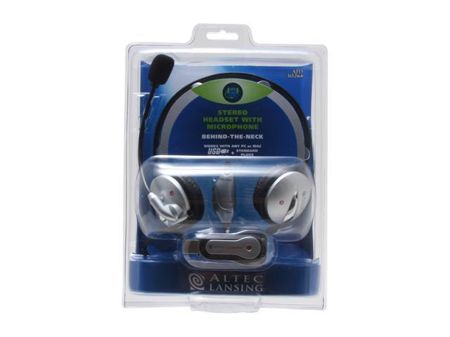 ALTEC LANSING AHS302USB 3.5mm/ USB Connector Circumaural Stereo Headset