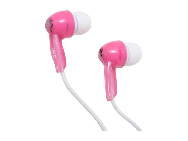 JVC HA-FX55ZP 3.5mm Connector Canal In Ear Headphone