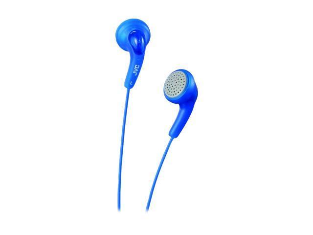 JVC  HA-F140-N (Blue)  Gumy Ear Bud Headphone