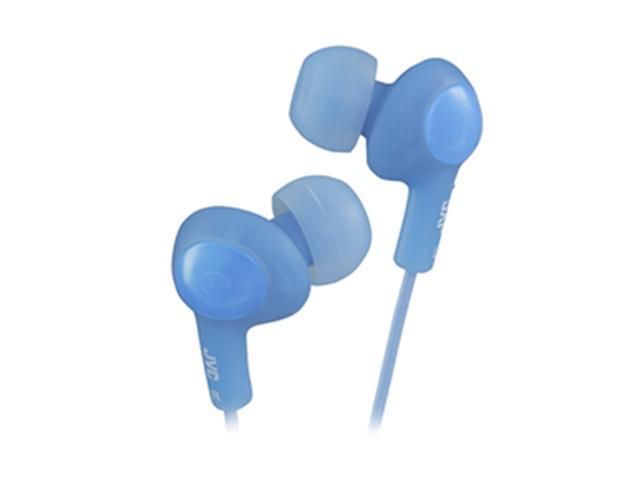 JVC Blue HA-FX5-A 3.5mm Connector Inner-Ear Gumy Plus Earphone (Blue)