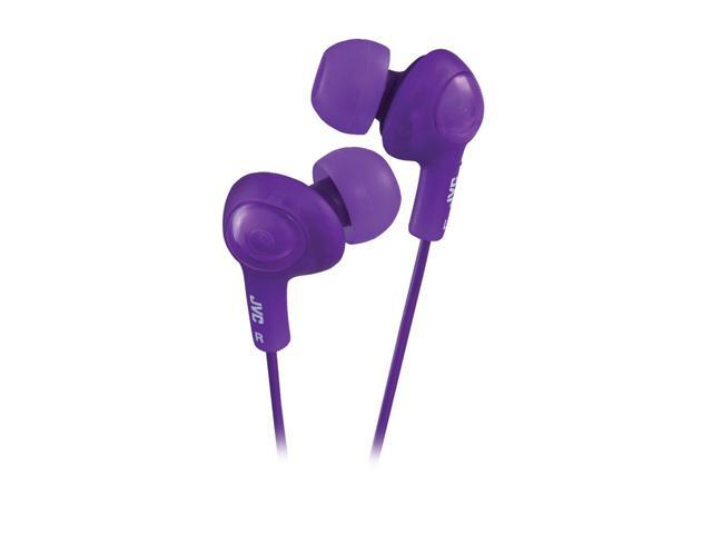 JVC HA-FX5-V 3.5mm Connector Inner-Ear Gumy Plus Headphone - Violet