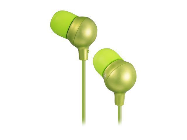 JVC HA-FX30-G 3.5mm Connector Inner-Ear Marshmallow Headphone - Green
