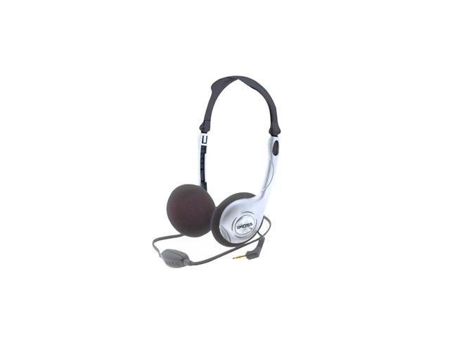 KOSS KTX8 3.5mm Connector Supra-aural Folding Portable Headphone With In-Line Volume Control