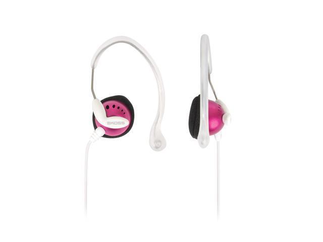 KOSS Pink Clipper Pink Ear Clip Earphone
