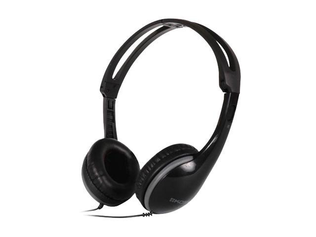 KOSS Black KPH15 3.5mm Connector Supra-aural Portable Headphone