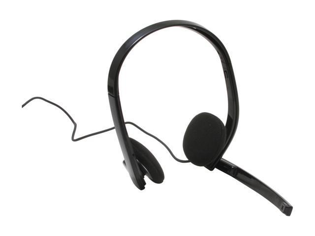 PLANTRONICS .Audio 330 3.5mm Connector Supra-aural Stereo Headset with Inline Control