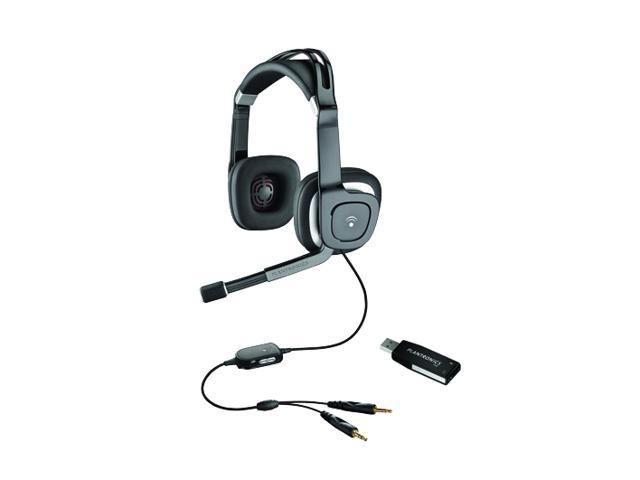 PLANTRONICS .Audio 650 USB 3.5mm/ USB Connector Circumaural Multimedia Stereo Headset