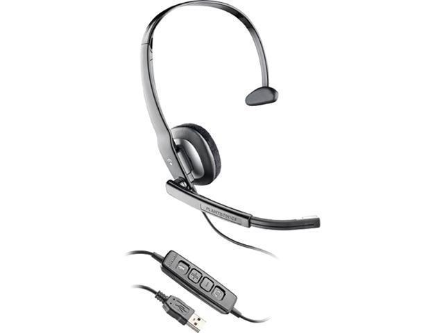 PLANTRONICS C210-M USB Connector Single Ear Headset