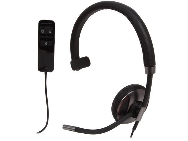 Plantronics Blackwire C710 Over-The-Head Monaural Headset for Unified Communication (87505-02)