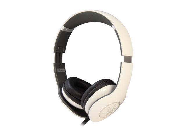 Yamaha PRO 300 High-Fidelity On-Ear Headphones (Ivory White) - HPH-PRO300WH