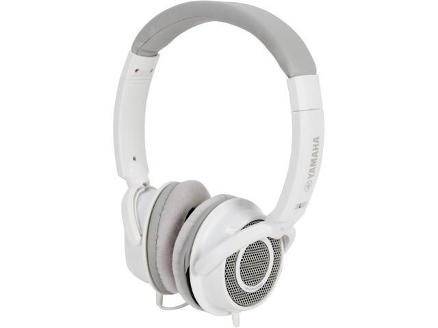 Yamaha White HPH-200WH Supra-aural Headphones, White
