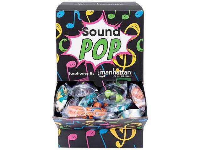 Manhattan SoundPOP Earphone Countertop Display/Dispenser