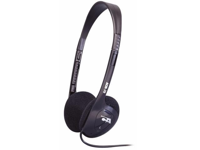 Cyber Acoustics ACM-70B 3.5mm Connector Supra-aural Lightweight PC/Audio Stereo Headphone
