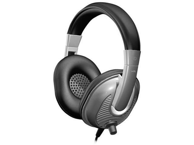 Cyber Acoustics ACM-7002 3.5mm Connector Circumaural Stereo Headphone for Kids