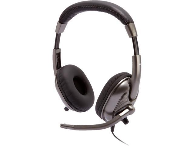 Cyber Acoustics AC-8000 3.5mm Connector Supra-aural Stereo Headset for Kids