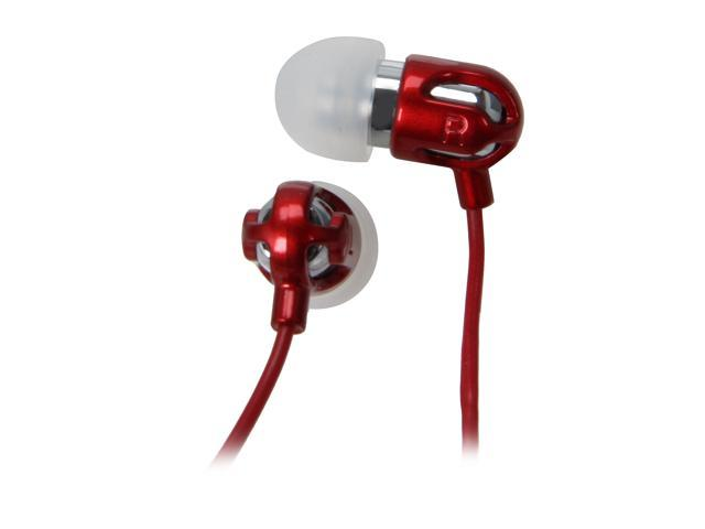 Spider E-EAPH-RD02 In-Ear TinyEar Audiophile Earphone (Red)