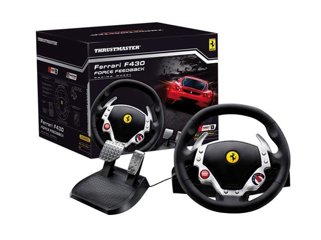 THRUSTMASTER 2969088 FERRARI F430 Force Feedback Racing Wheel PC
