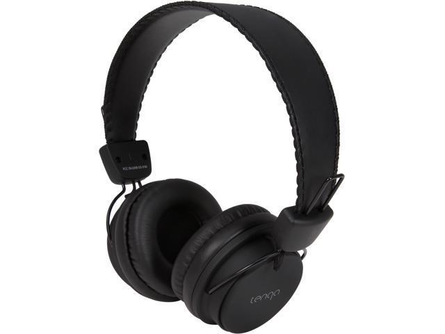 Tenqa Black REMXD Black Wireless Bluetooth Headphones