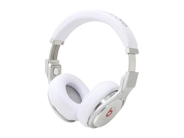 Beats by Dr. Dre White MH6Q2AM/A 3.5mm Connector Over Ear High Performance Professional Headphone (White)