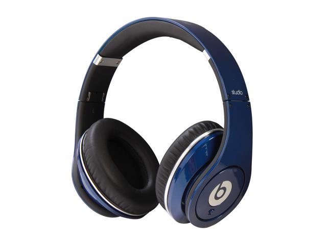 Beats by Dr. Dre Blue Studio On Ear Powered Isolation Headphone (Blue)