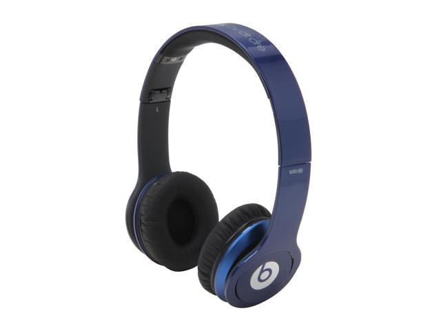 Beats by Dr. Dre Metallic Blue Beats Solo HD 3.5mm Connector On-Ear Headphone  with ControlTalk (Metallic Blue)