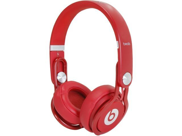 Beats by Dr. Dre Mixr On-Ear Headphone, Red