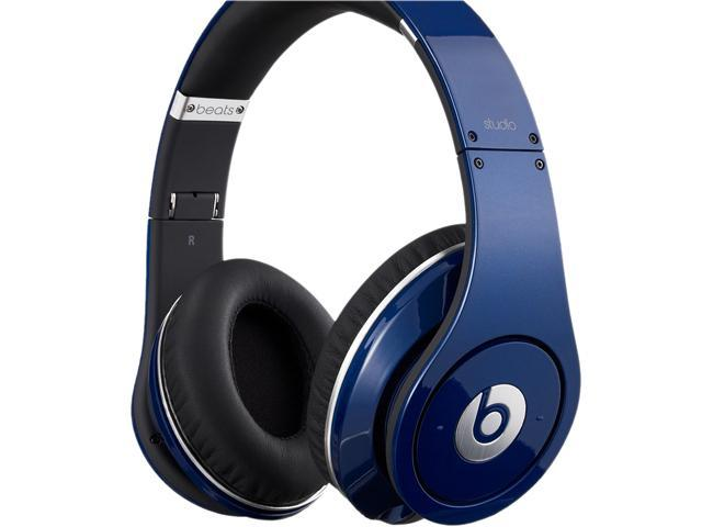 Beats by Dr. Dre Blue STUDIO-BLUE Supra-aural Headphone