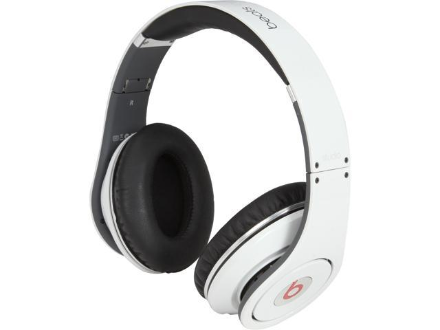 Beats by Dr. Dre White STUDIO- WHITE 3.5mm Connector Supra-aural Headphone