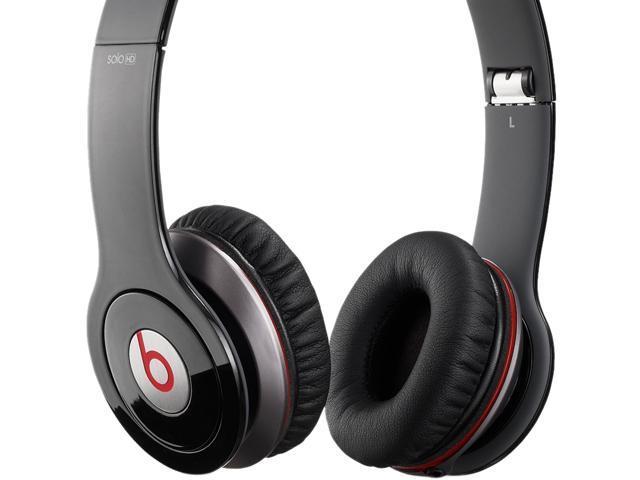 Beats by Dr. Dre Black SOLO HD-BLACK Supra-aural Headphone