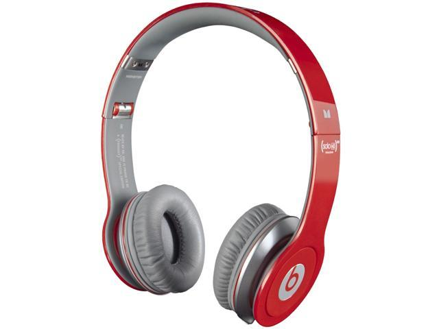 Beats by Dr. Dre Red SOLO HD-RED 3.5mm Connector Supra-aural Headphone
