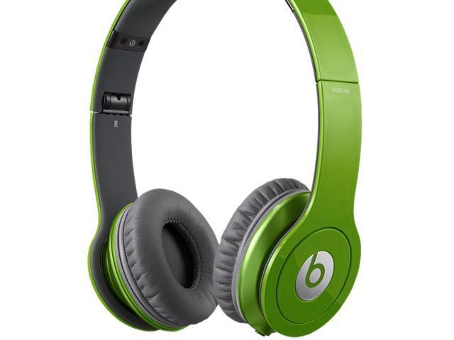 Beats by Dr. Dre Light Green SOLO HD-LIGHT GREEN 3.5mm Connector Supra-aural Headphone