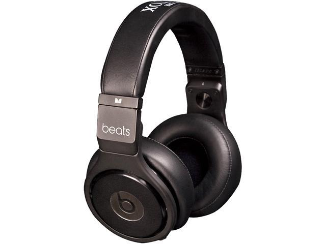 Beats by Dr. Dre Black Pro Black/Silver Over Ear High Performance Professional Headphone (Black)