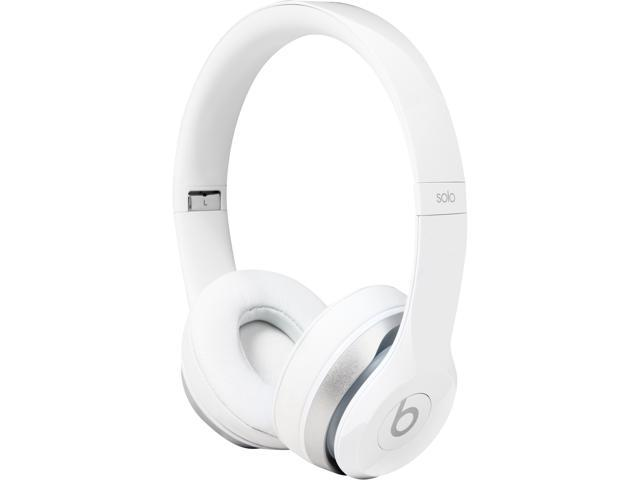 Beats by Dr. Dre Solo 2 White MH8X2AM/A Solo 2 On-Ear Headphone