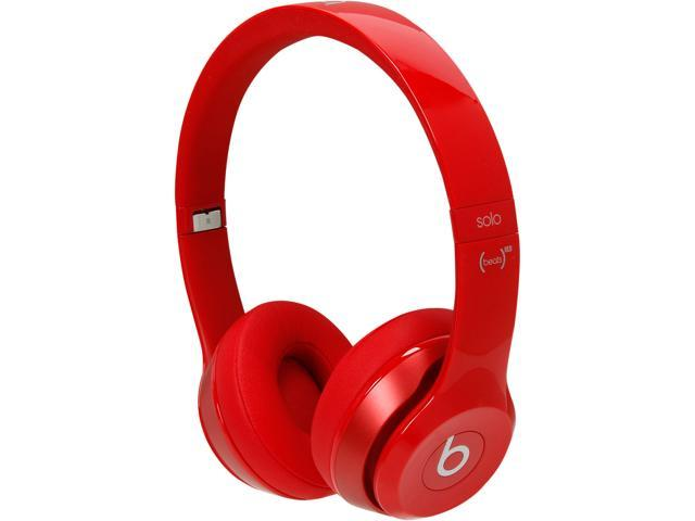 Beats by Dr. Dre Solo 2 Red MH8Y2AM/A Solo 2 On-Ear Headphone