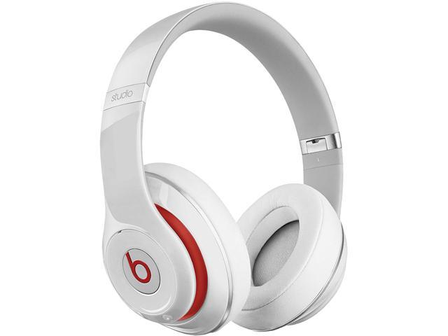 Beats by Dr. Dre Studio 2.0 Wired Over-Ear Headphone (White) - A Grade Recertified